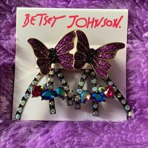 New Betsey Johnson Earrings
